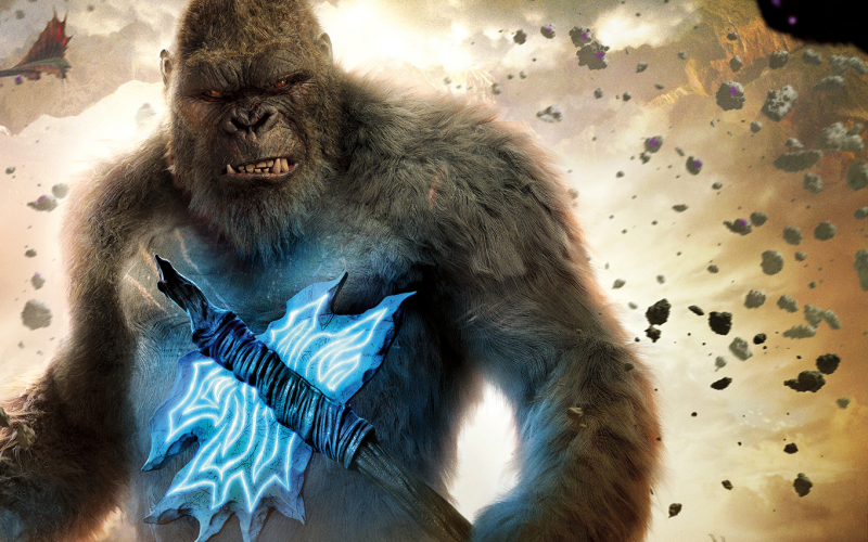 Adam Wingard filmed 5 hours worth of Godzilla vs. Kong footage!