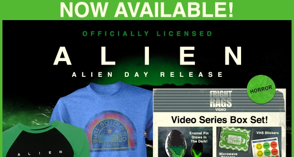 ALIEN DAY Collection Launches at Fright-Rags!