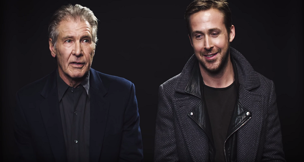 Harrison Ford and Ryan Gosling discuss their time together on the set of Blade Runner 2049.