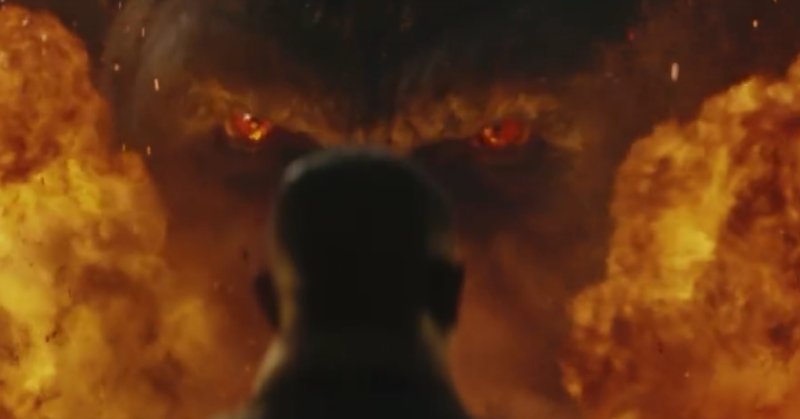The King is back in explosive new trailer for Kong: Skull Island