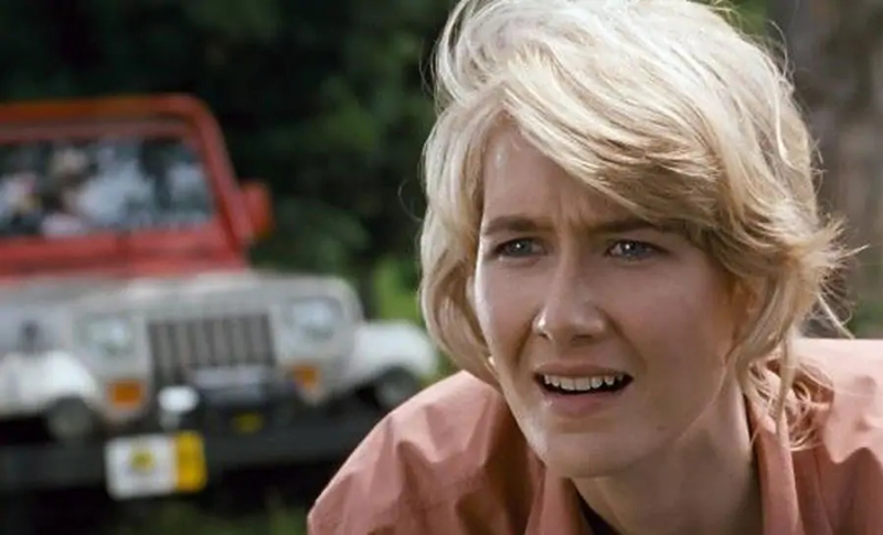 Laura Dern is BACK as Ellie Sattler and shares new Jurassic World Dominion set photo!
