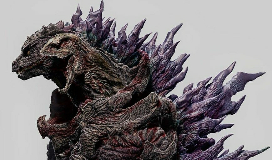 Marvel at this new Mutant Godzilla concept dubbed Shin-Gojira 2000!
