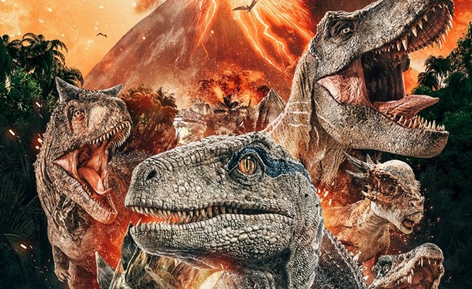 More Jurassic World: Fallen Kingdom posters flood the web!