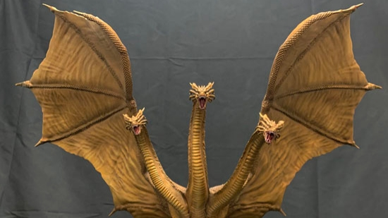 New Art Spirits King Ghidorah 2019 Images!