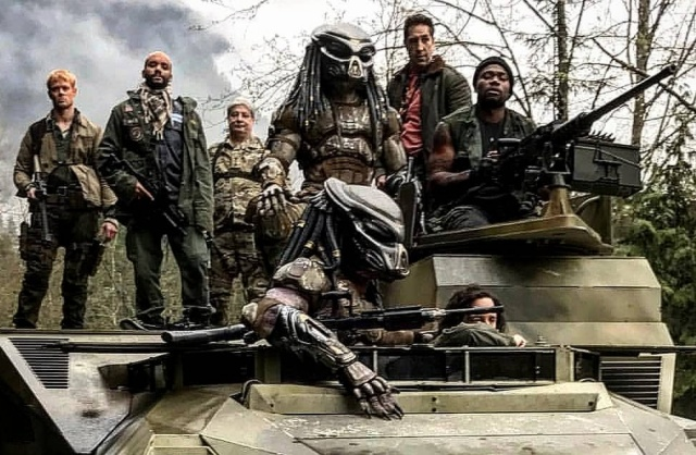 New Emissary Predator set photo from The Predator lands online!
