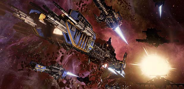 Save 50% on Battlefleet Gothic: Armada on Steam