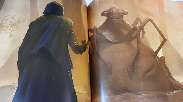 The Oracle: Leaked Star Wars Rise of Skywalker concept art unveils strange, unused alien creature!