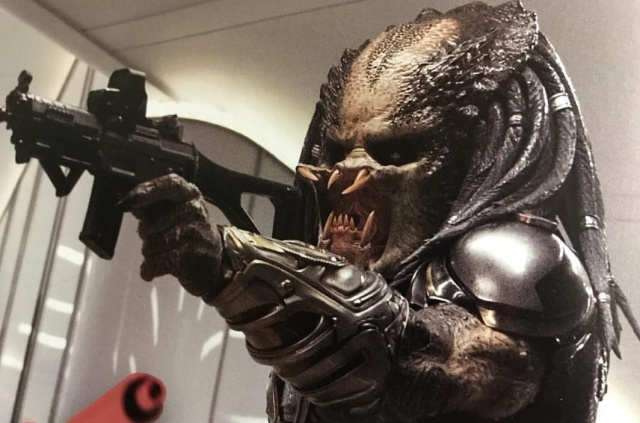 The Predator 2018 Blu-Ray features, deleted scenes and extras