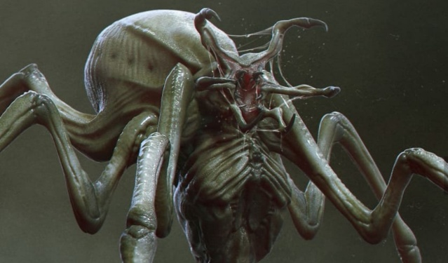 Unused Predator Spider creature concept from The Predator (2018) is pure nightmare fuel