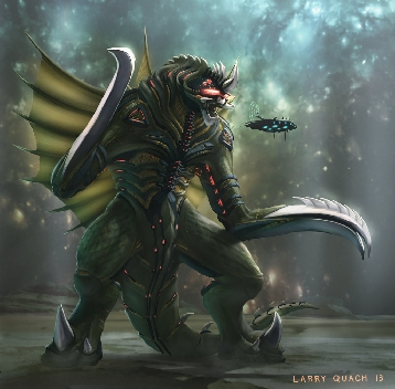 Another Gigan Concept by Larry Quach