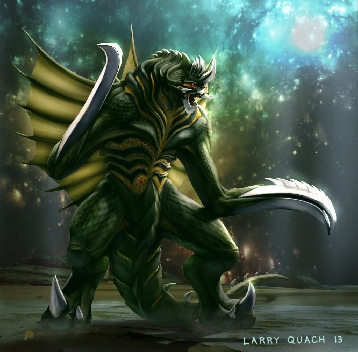 New Gigan Concept by Larry Quach
