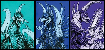 Different Versions of Gigan