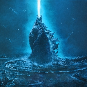 Godzilla 2: Official Textless Movie Poster