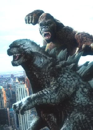 Godzilla And Kong In New York