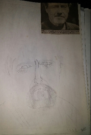 Mi drawing from 13 years ago..Ridley Scott.