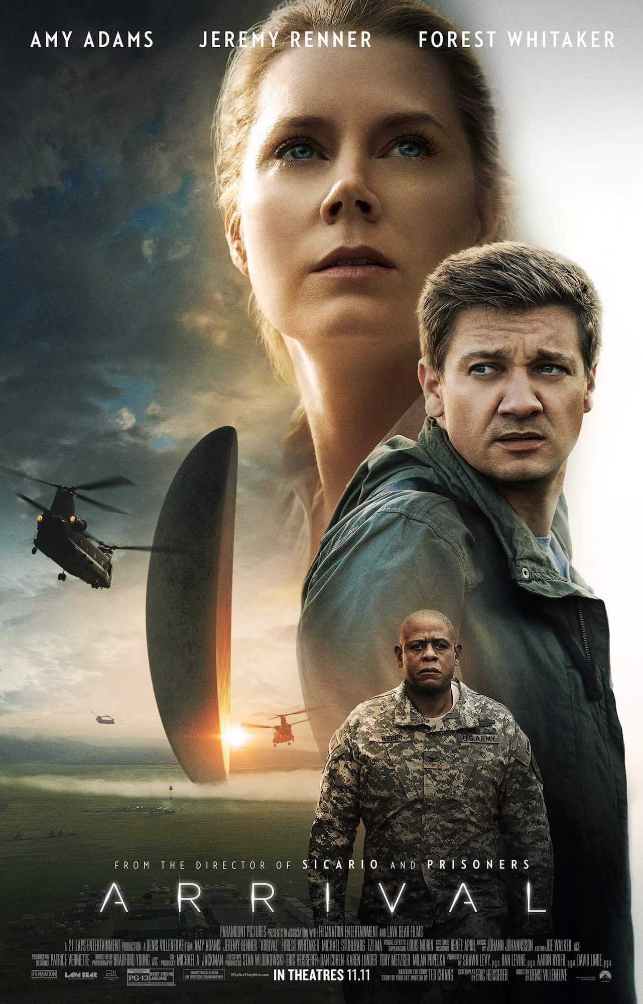 Arrival Movie images