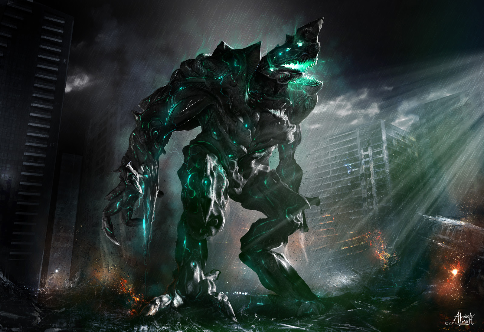 How Pacific Rim, Godzilla & Kong: Skull Island could all ... Pacific Rim Kaiju Category 100
